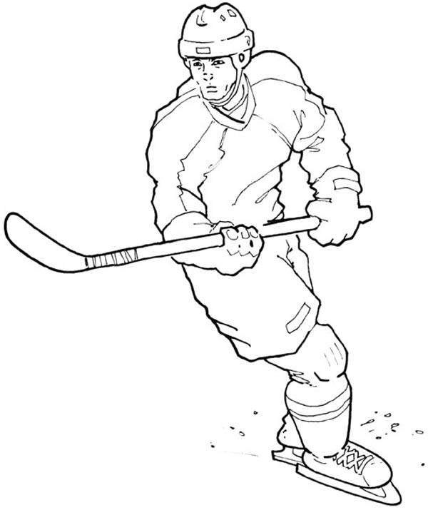 field hockey stick coloring pages