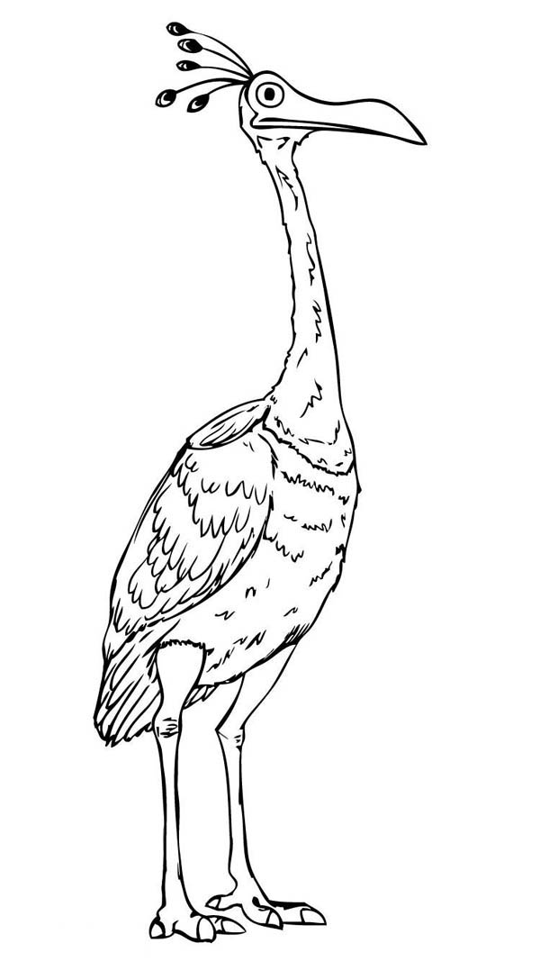 Up Characters Coloring Pages Sketch Coloring Page
