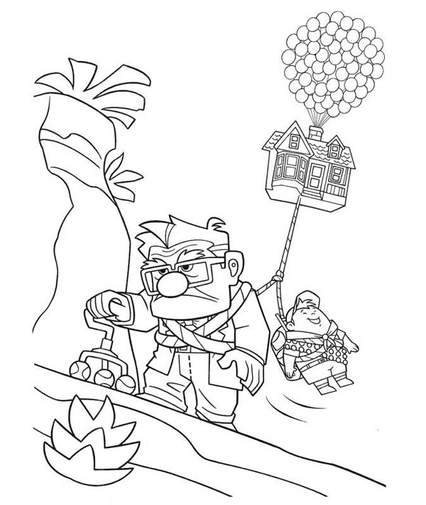 Carl Fredricksen Coloring Coloring Pages Coloring Pages