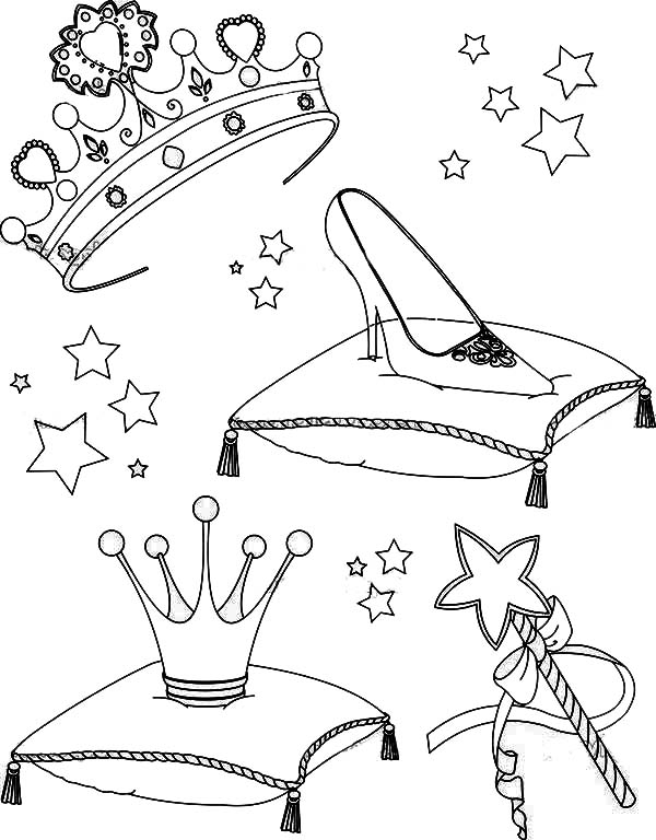 beautiful princess collectibles coloring page  netart