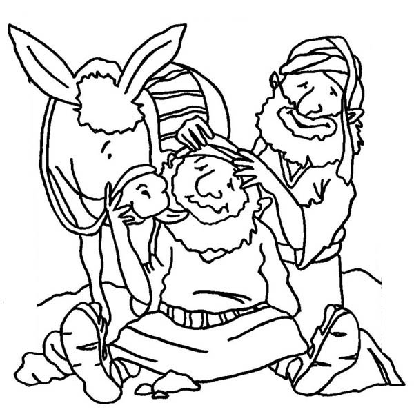 Male Perineal Massage Instructions Sketch Coloring Page