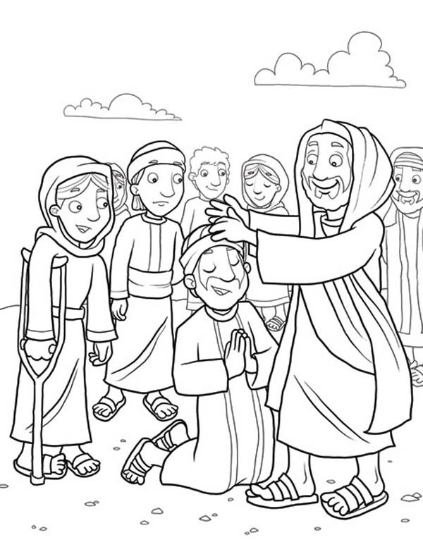 Anointing Of The Sick Coloring Pages Coloring Pages