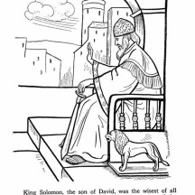 Saul Disobeys God Page Coloring Pages