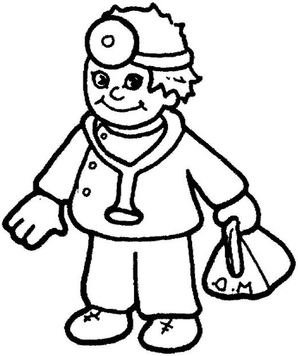Community Workers Coloring Pages Teacher Coloring Pages