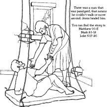 Hole In The Roof Coloring Coloring Pages