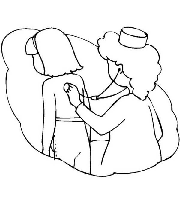 Stethoscope Coloring Sheets Or Pictures to Pin on