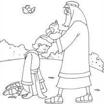 david becomes king coloring page | Coloring Page for kids