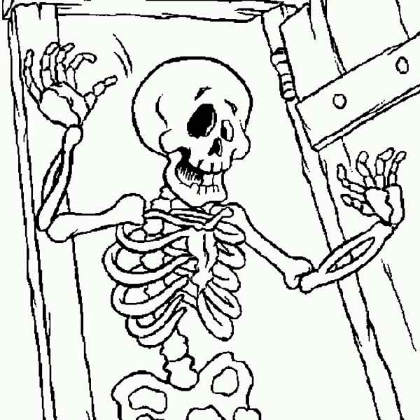 skeleton key coloring pages