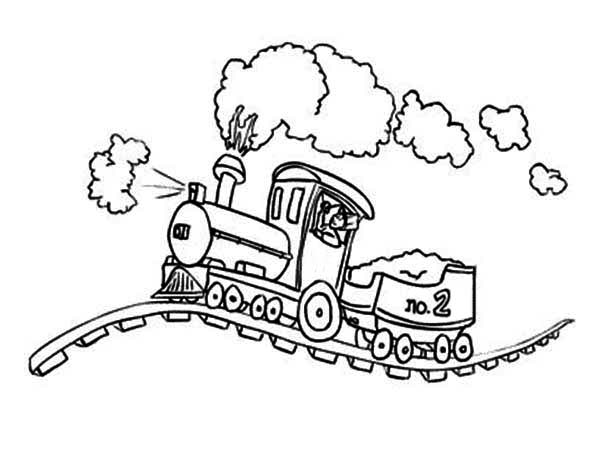 Lionel Train Coloring Pages Coloring Pages