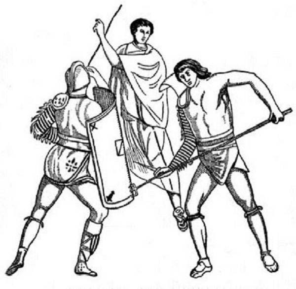 Free roman in sheets coloring pages