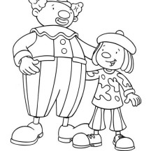 Coloring Pages Circus Tightrope Coloring Pages