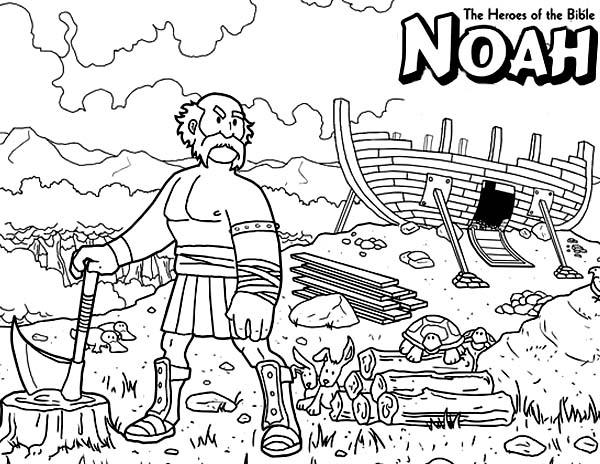 Noah Bible Story Clip Art