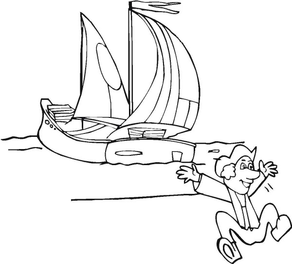 st christopher coloring pages
