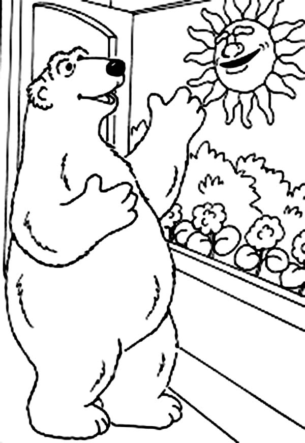 Good Morning Sunshine Sheets Coloring Pages
