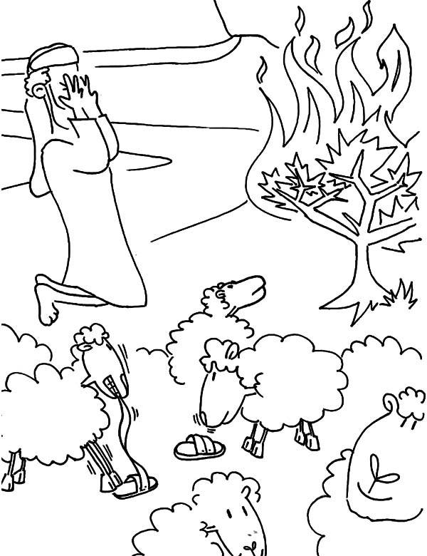 Sandal Coloring Pages