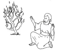Pin Moses-and-the-burning-bush-coloring-page-index-of on ...