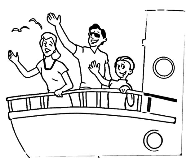 Saying Goodbye Coloring Pages Coloring Pages
