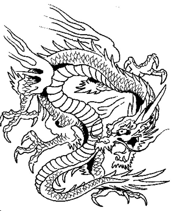 Dragon Boat Festival Coloring Pages 09