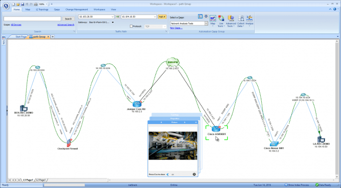 Network Diagram Software NetBrain