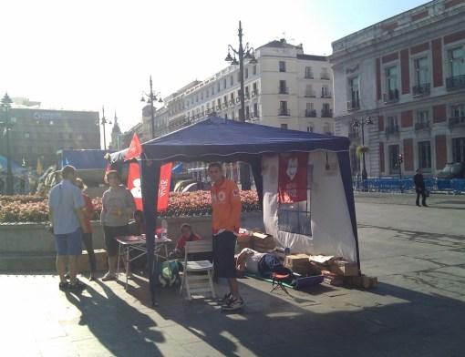 #acampadavida