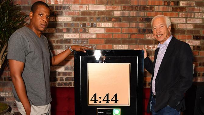Jay-Z's '4:44' Platinum Plaque Award Was Taken Before Album Release