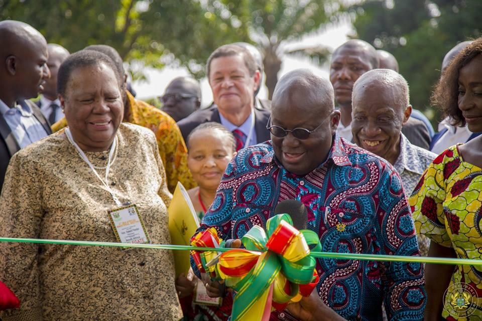 Akufo-Addo Launches Ghana Radio Astronomy Observatory (Photos)