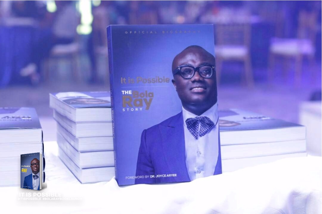 Bola Ray's book'It's Possible' launched