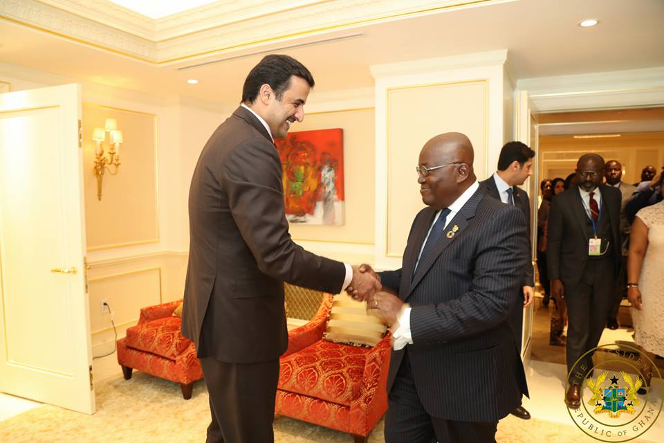 Photo of the day! Akufo-Addo meets Donald Trump