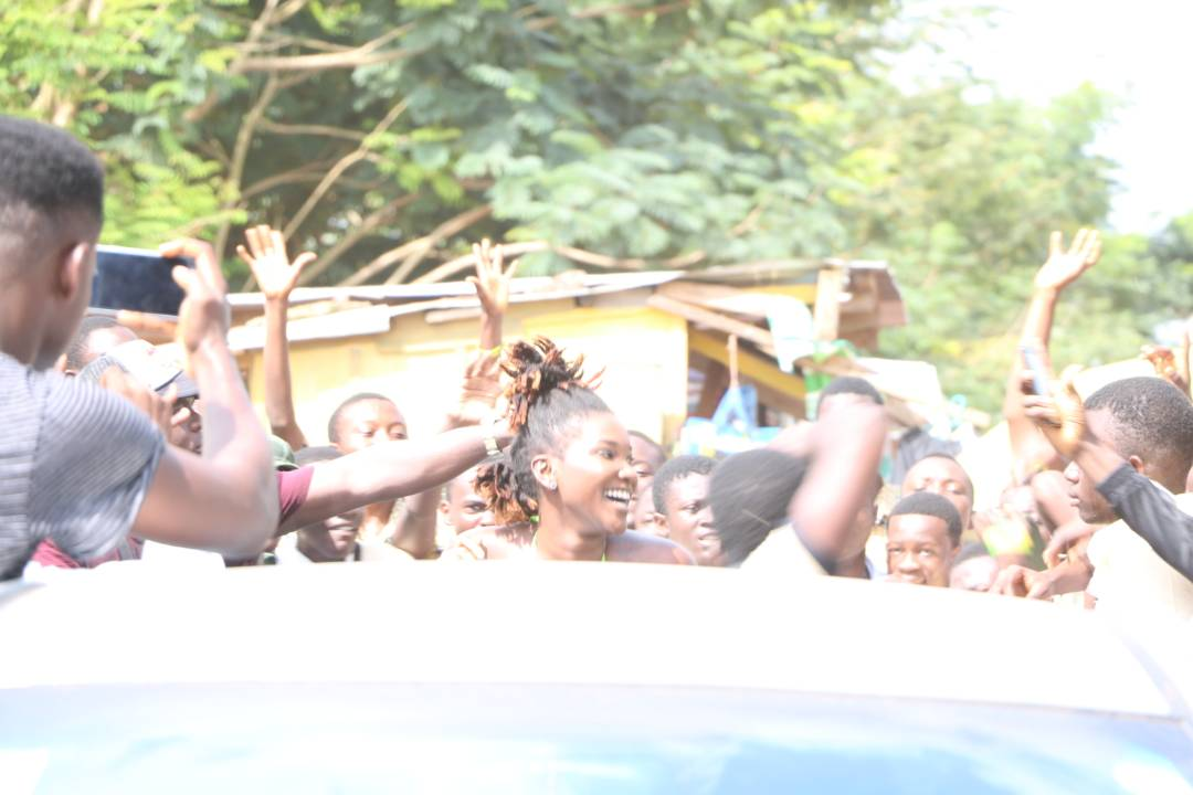 Ebony Rocks Koforidua Secondary School - Photos