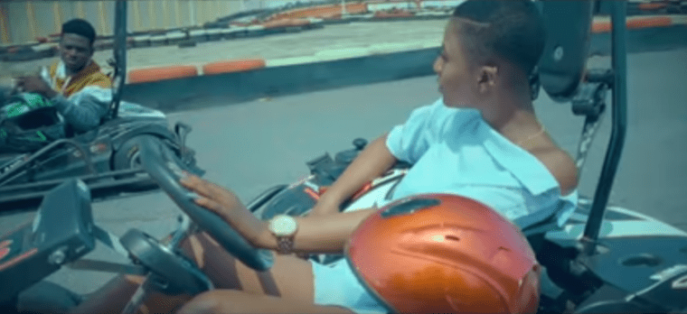 Kuami Eugene takes Ahoufe Patri on a ride in'Angela' music video