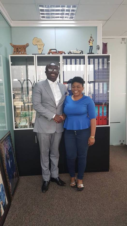 TV3 tries to 'steal' GH One TV's Kemini Amanor but Bola Ray stops the move