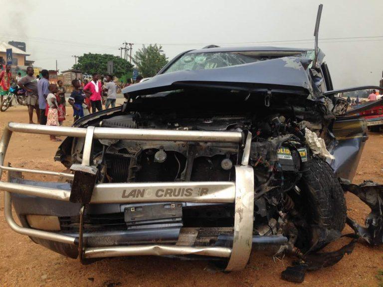 Six die in car crash on Suhum-Nsawam road