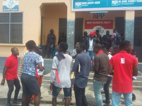 Confusion rocks NPP polling station elections as MPs hijack forms