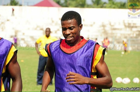 Hearts of Oak boosted as Thomas Abbey resumes training