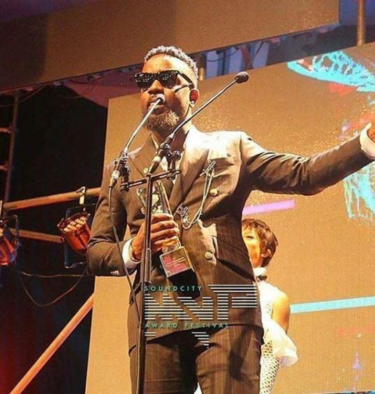Sarkodie's'Pain Killer' wins Sound City MVP Awards''Best Collaboration'