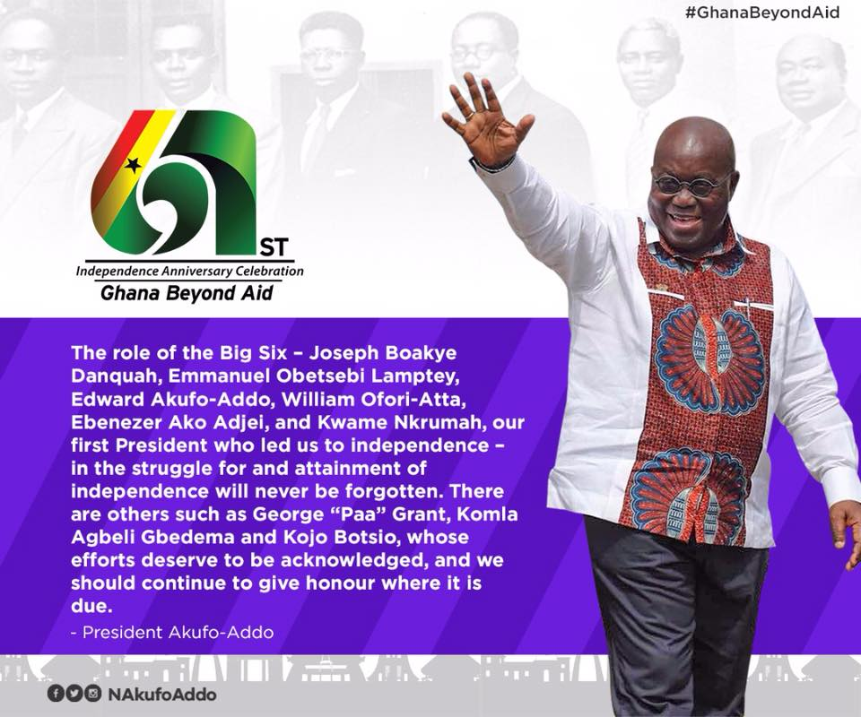 Ghana Beyond Aid - 10 Points from Pres Akufo-Addo's Address