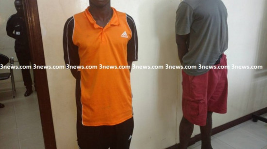 Two'criminals' arrested in Accra with G3 rifle, 2 pistols, others