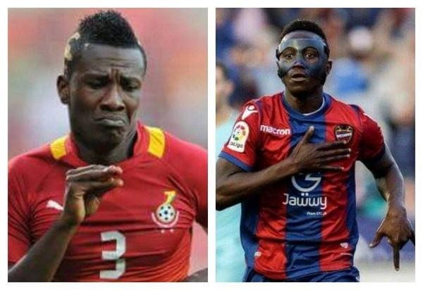 Asamoah Gyan cautions Emmanuel Boateng over current form