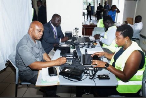Ghana Card registration begins in Parliament, Minority MPs refuse to participate
