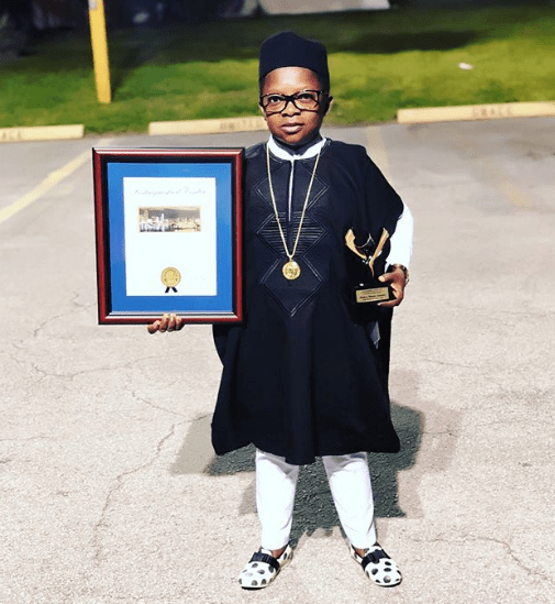 """Nigerian actor 'Aki' honoured in Miami as a """"Distinguished Visitor"""""""
