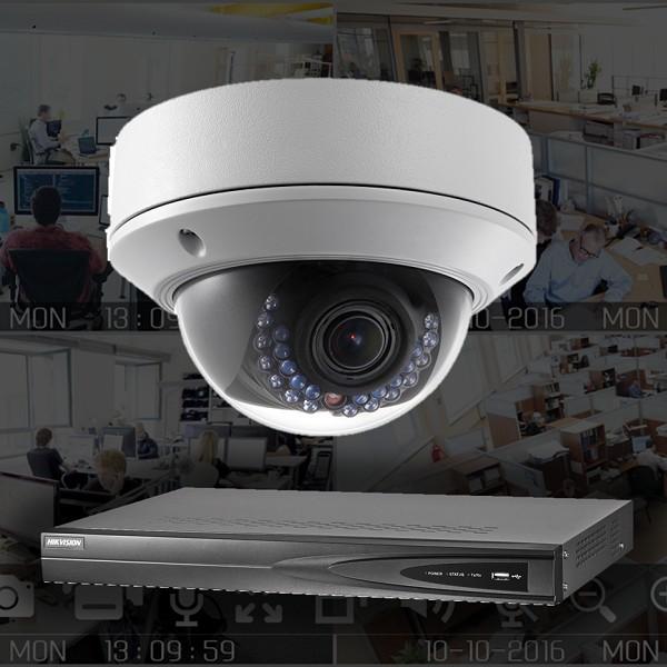 Netcam Hikvision IP-pakke minidome