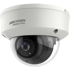 Netcam HiWatch Hikvision 5MP dome analog motorisert zoom HD-TVI kamera