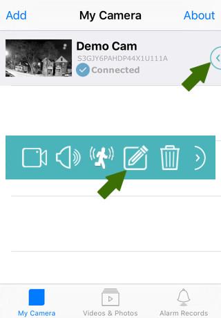 NetCamPro Find Your IP iPhone