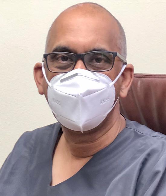Ms Gumede's treating pulmonologist, Dr Sabeer Abdool Gaffar.