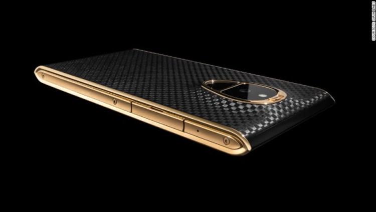 Conoce Solarin, el costoso teléfono celular fabricado para los más ricos