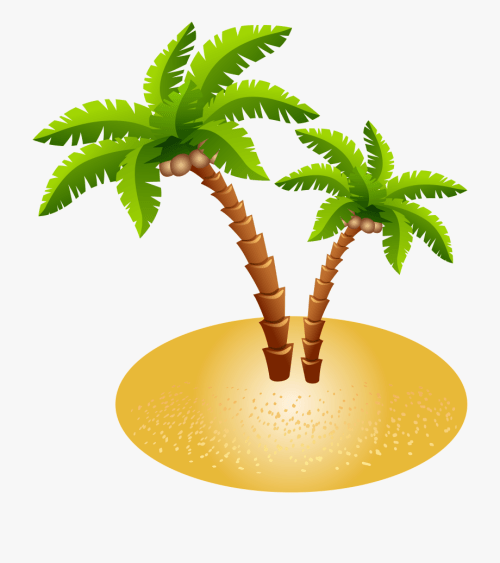 small resolution of sand clipart palm tree island clipart transparent background download free