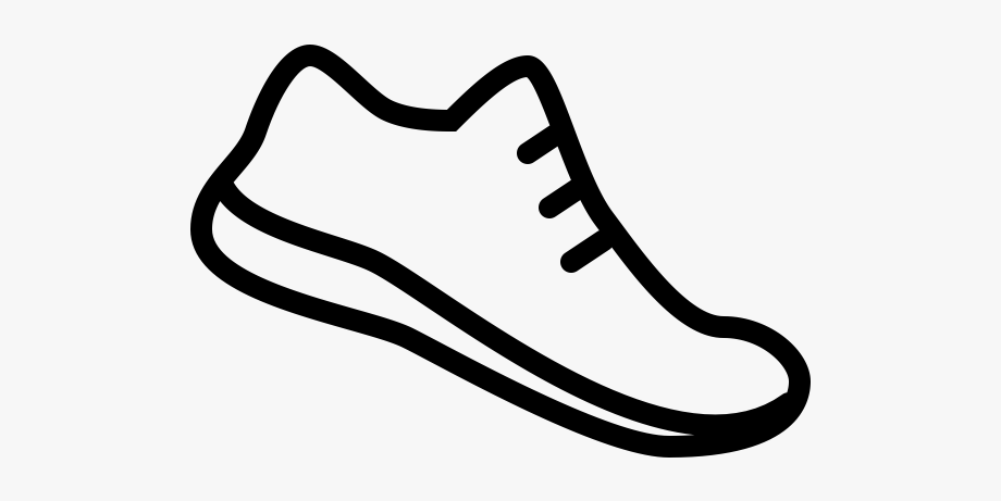 28 Collection Of Running Shoes Clipart Png - Tennis Shoe ...