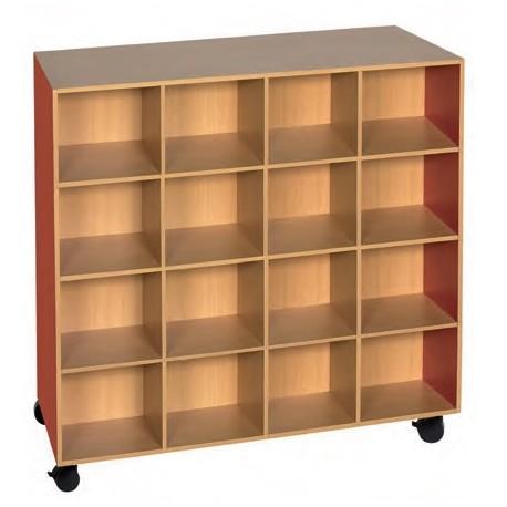range doudou pour creche meuble range doudous 16 cases en melamine