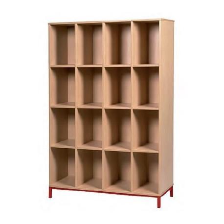 casiers ouverts meuble de rangement a
