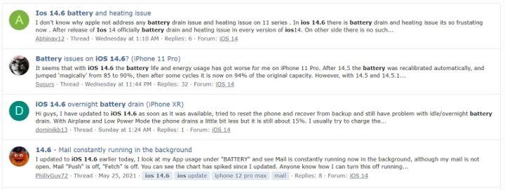 1622618 105 955 La batería de algunos iPhones se agota más rápidamente después de